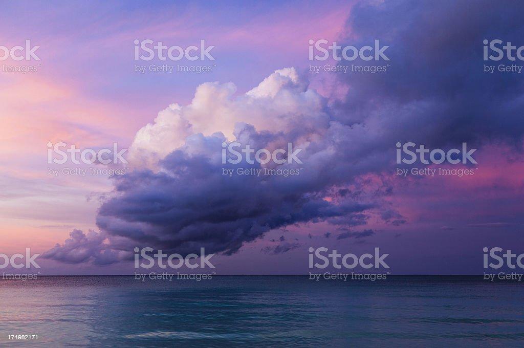 boracay seascape royalty-free stock photo