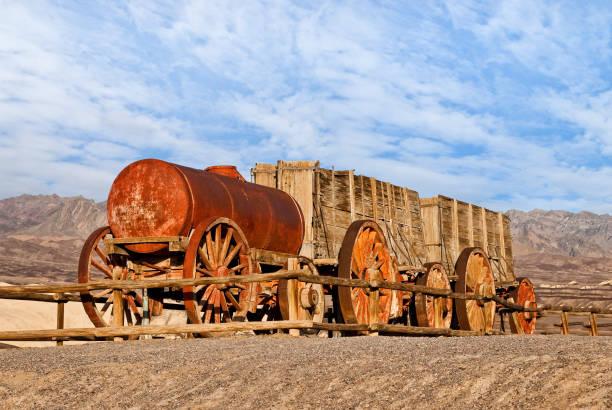Twenty Mule Team Borax Wagon stock photo