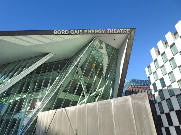 bord gais energy theatre - mamma mia stock photos and pictures