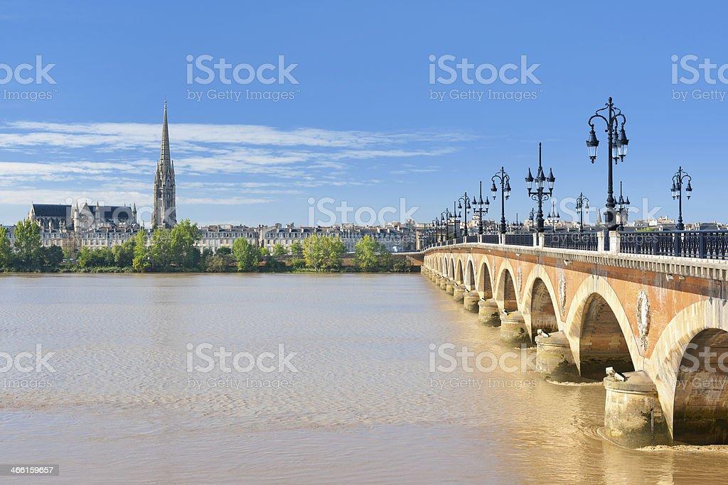 Bordeaux sur une journée ensoleillée - Photo