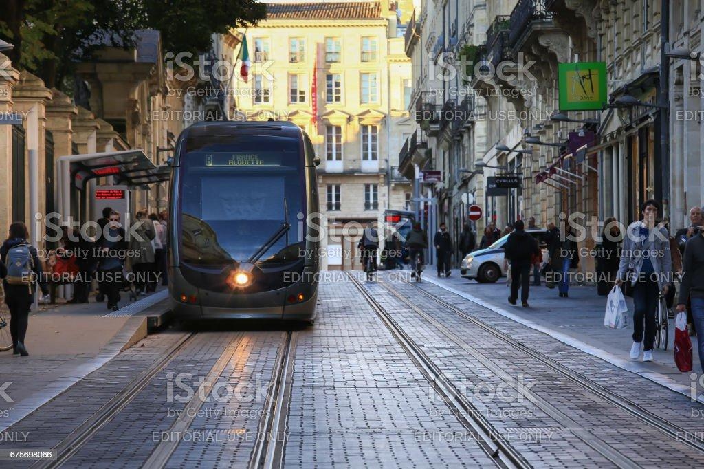 Bordeaux city, France royalty-free stock photo