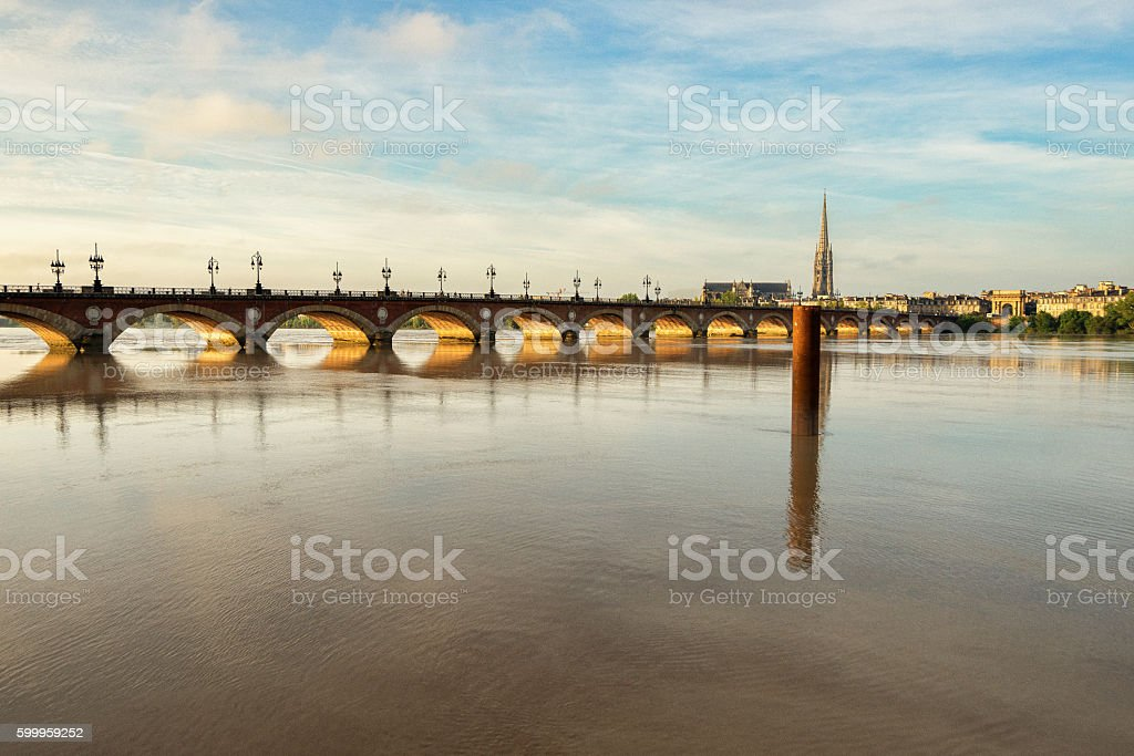 Bordeaux, fiume Garonna - Photo