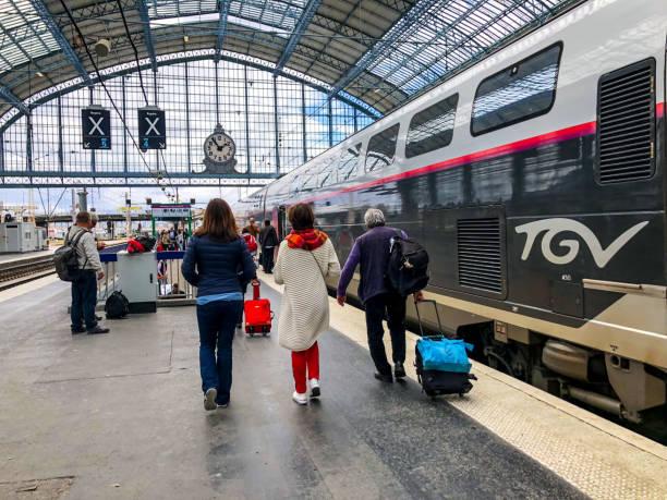 Bordeaux Train Station, Frankreich – Foto