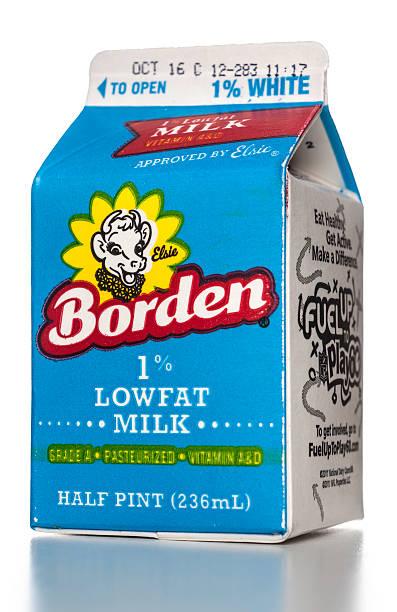 Borden 1 % Lowfat lait demi-bière - Photo