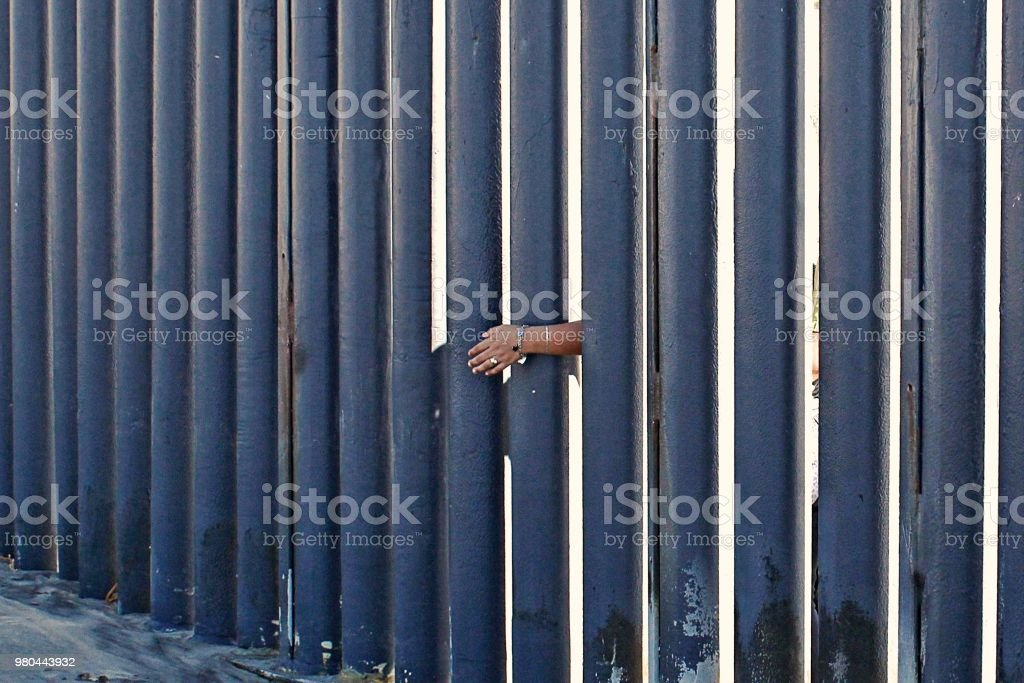 Border Hands stock photo