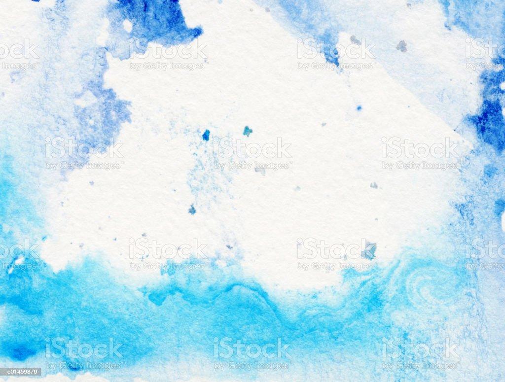 Confine Di Sfumature Di Colore Blu Con Sfondo Bianco Fotografie