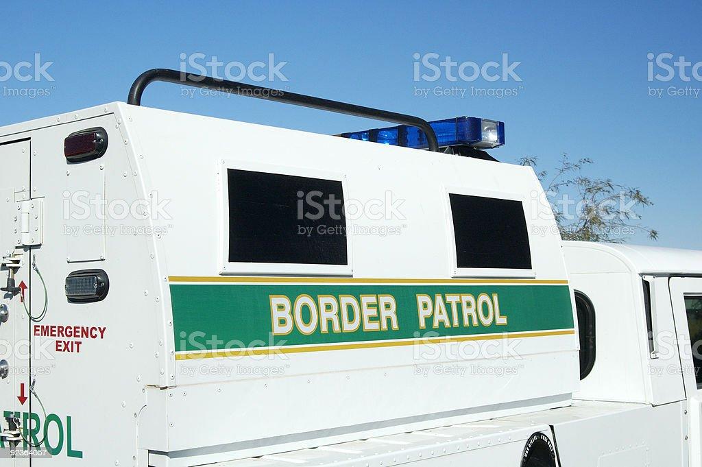 Border Patrol royalty-free stock photo