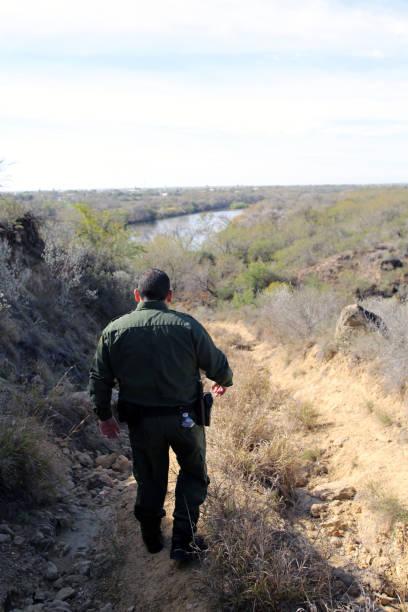 Border Patrol, Rio Grande Valley stock photo