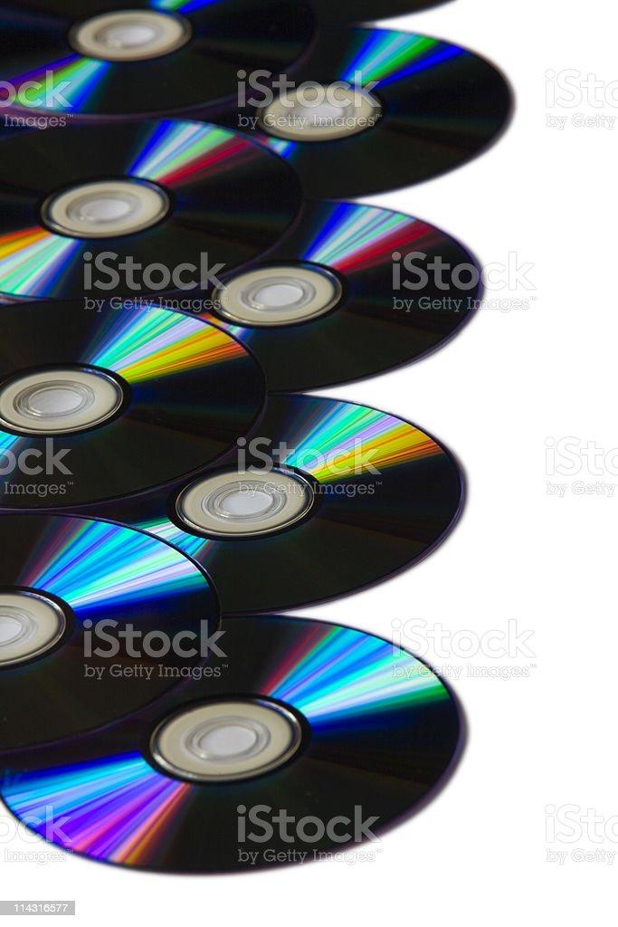 DVD border royalty-free stock photo
