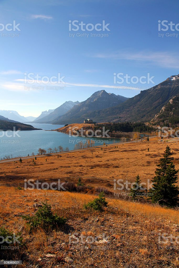 Border Valley stock photo