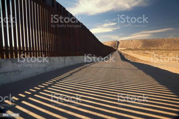 Photo of U.S. Border Wall Fence
