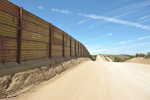 Border Wall Stock Photo - Download Image Now