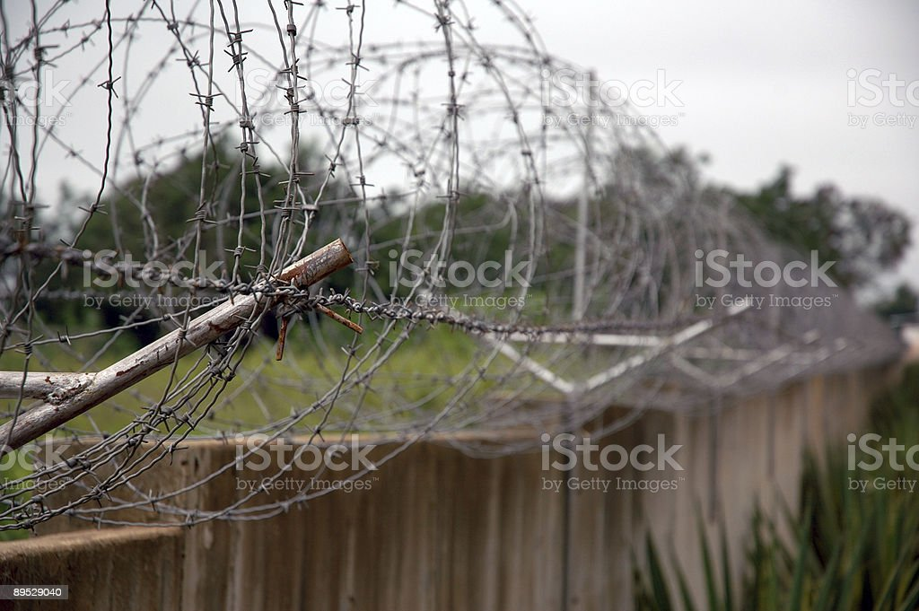 Borders and Fences royalty-free stock photo