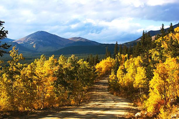 Boreas-Pass mit Aspenglow (Colorado – Foto