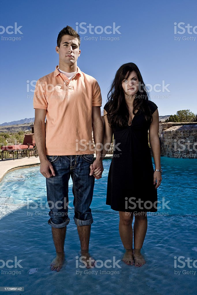 bored couple royalty-free stock photo