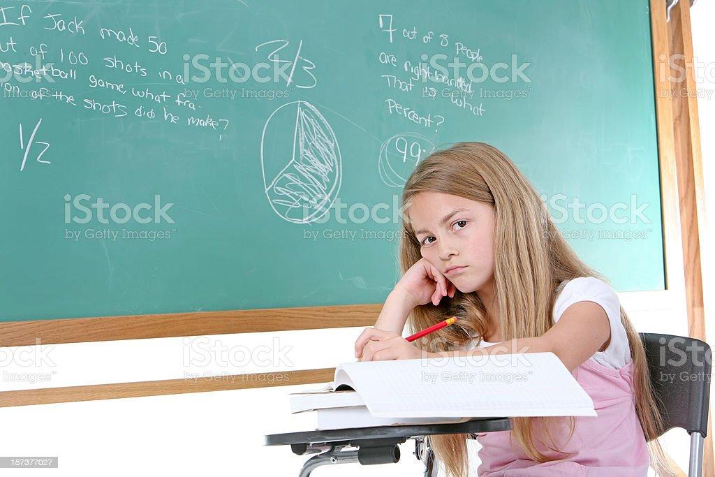 Gelangweilt student – Foto