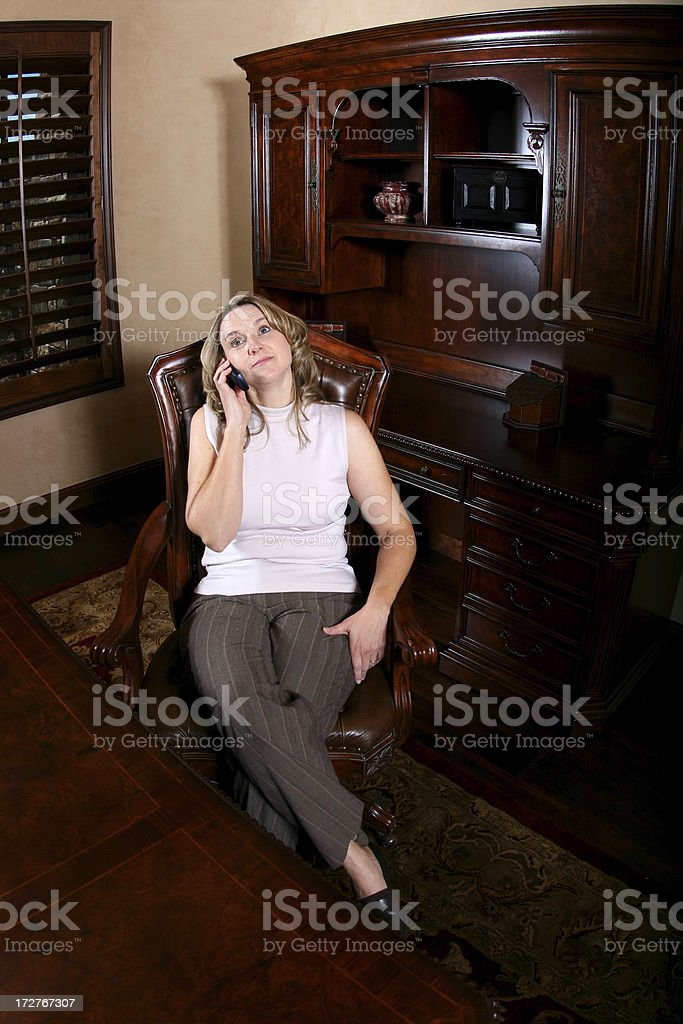 Bored with the conversation stock photo