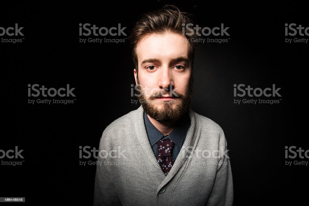 Bored young male royalty-free stock photo