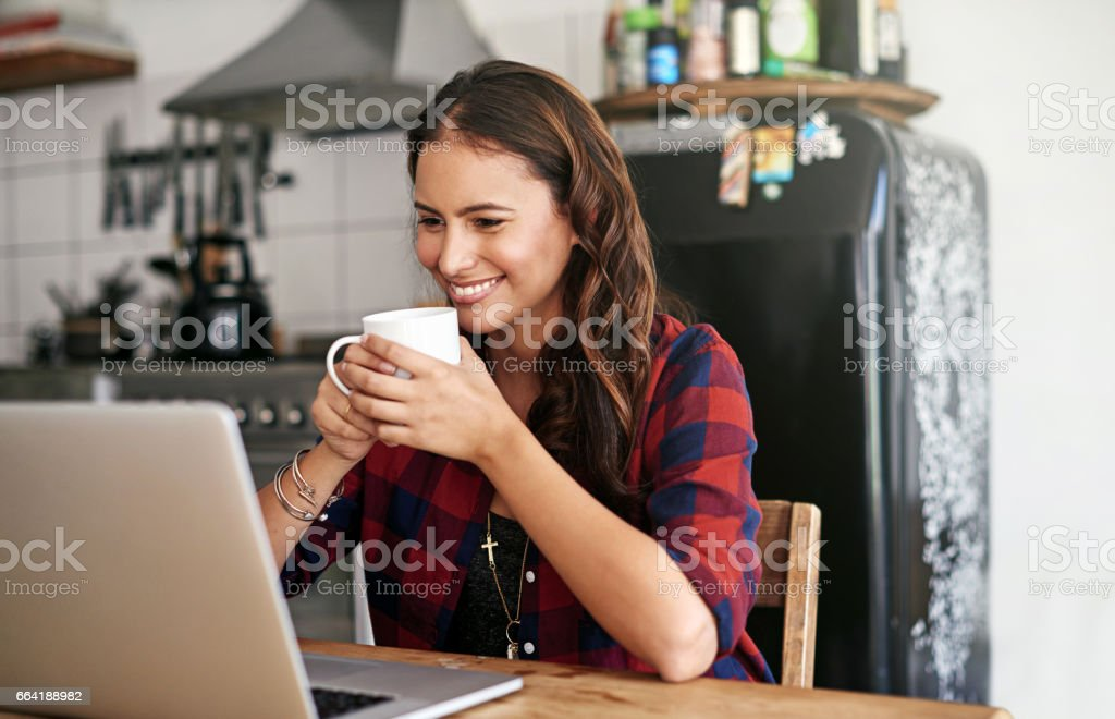 Boredom and technology have no connection stock photo