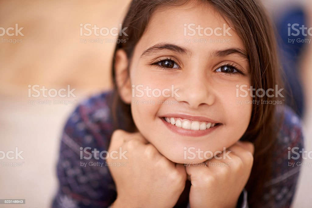 Boredom? What's that? stock photo