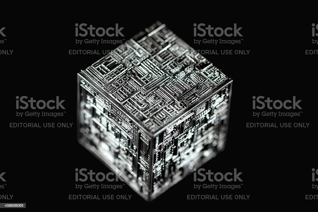 Borg Cube royalty-free stock photo