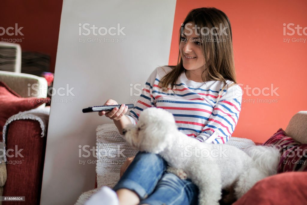 Boring afternoon stock photo