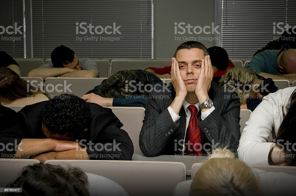 Boring stock photo