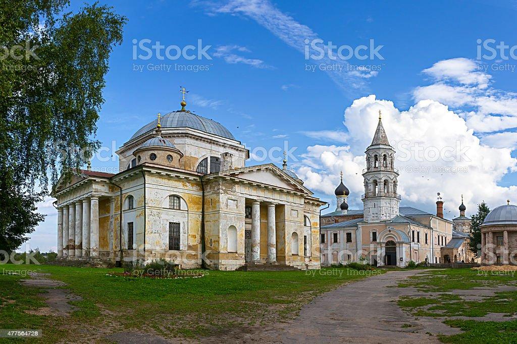 Borisoglebsky монастырь, Torzhok Тверь регионе стоковое фото