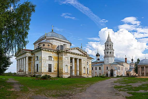 Cтоковое фото Borisoglebsky монастырь, Torzhok Тверь регионе