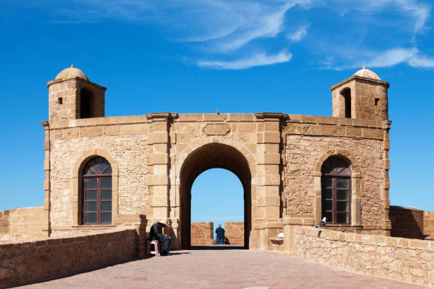 Borj North in Essaouira stock photo
