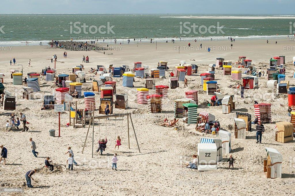 Borkum North Beach, Deutschland – Foto