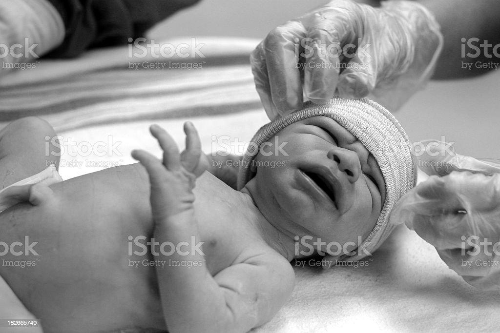born on a monday royalty-free stock photo