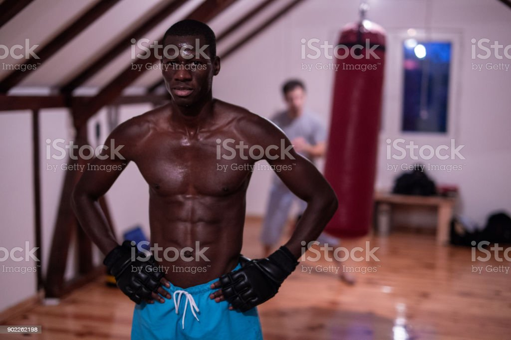 Born To Be Fighter stock photo