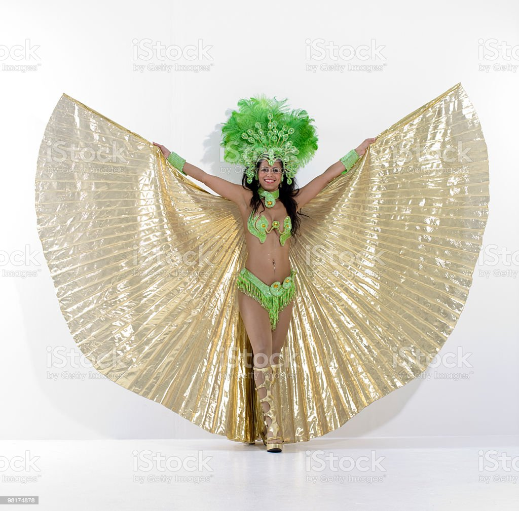 born to samba royalty-free stock photo