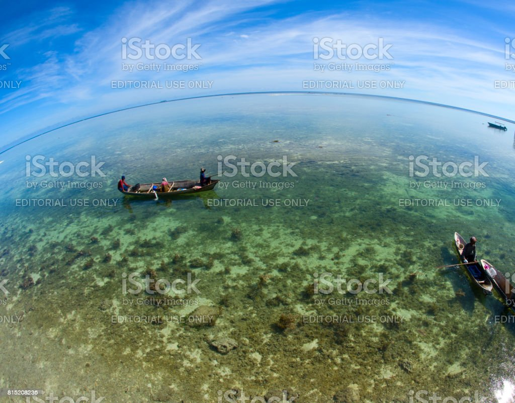 Borneo Sea Gypsy. stock photo