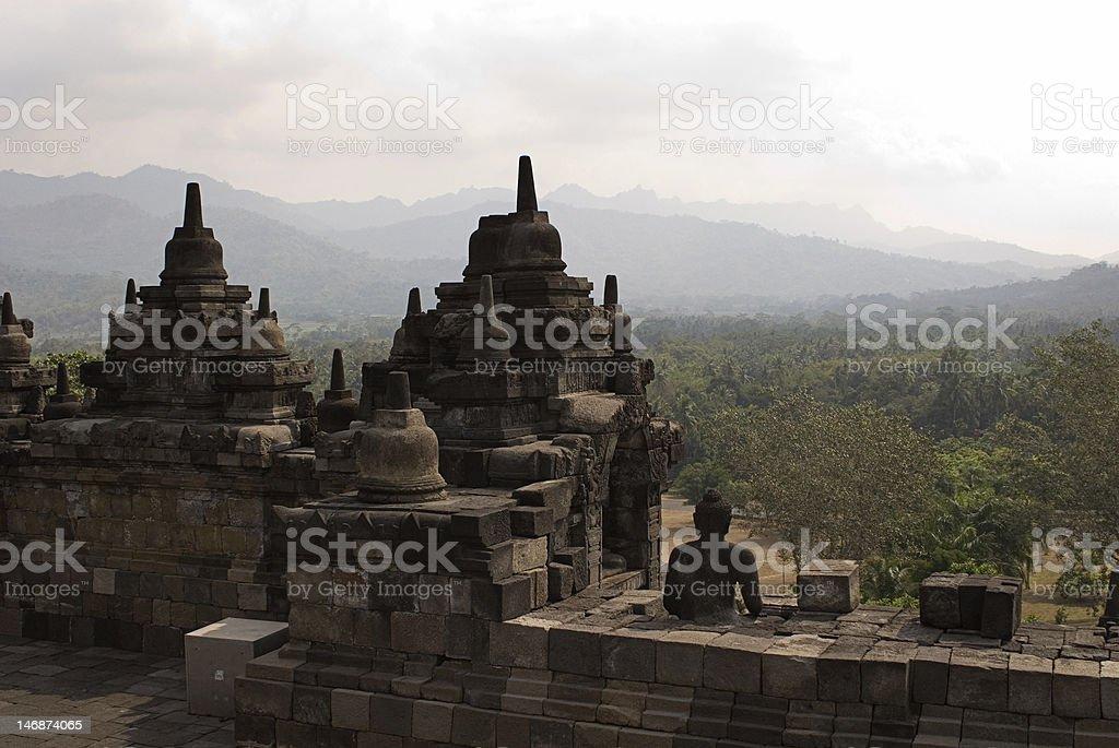 Borobudur Indonesia royalty-free stock photo