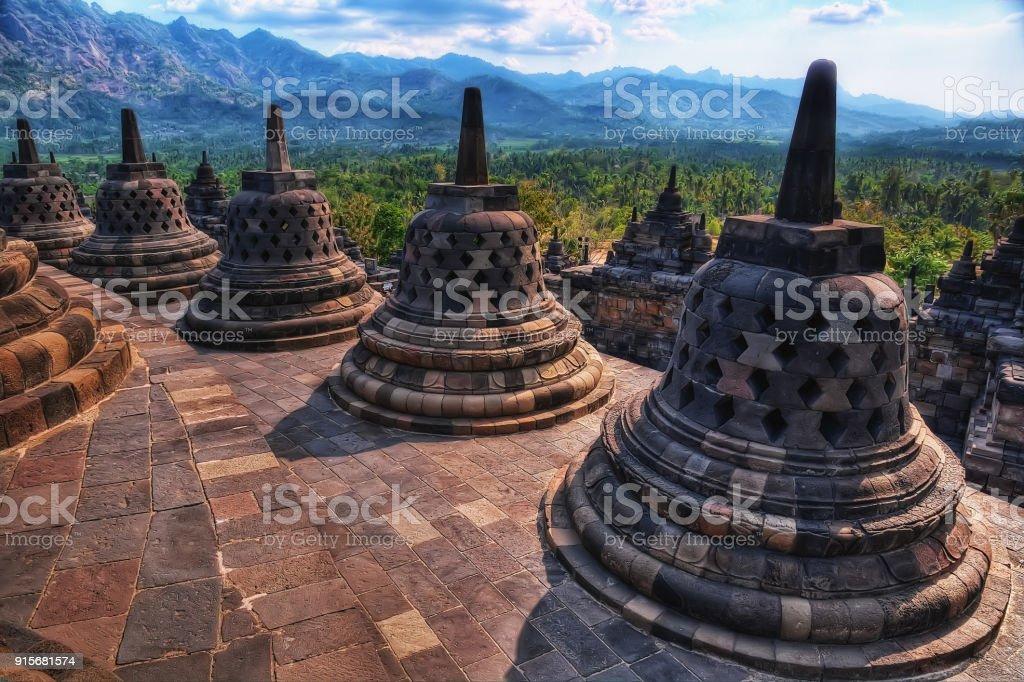 Borobudur Indonesia stock photo