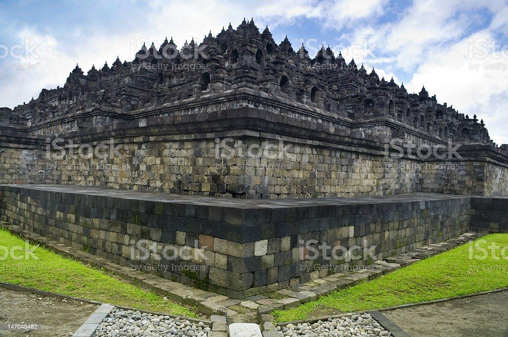 Borobudur Ruins royalty-free stock photo