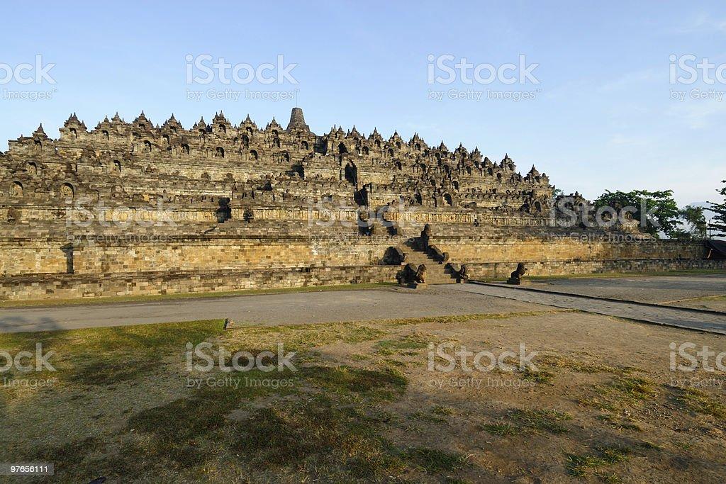 Borobudur temple royalty-free stock photo