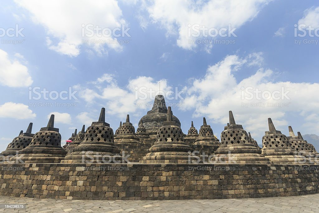 Borobudur temple,Indonesia royalty-free stock photo