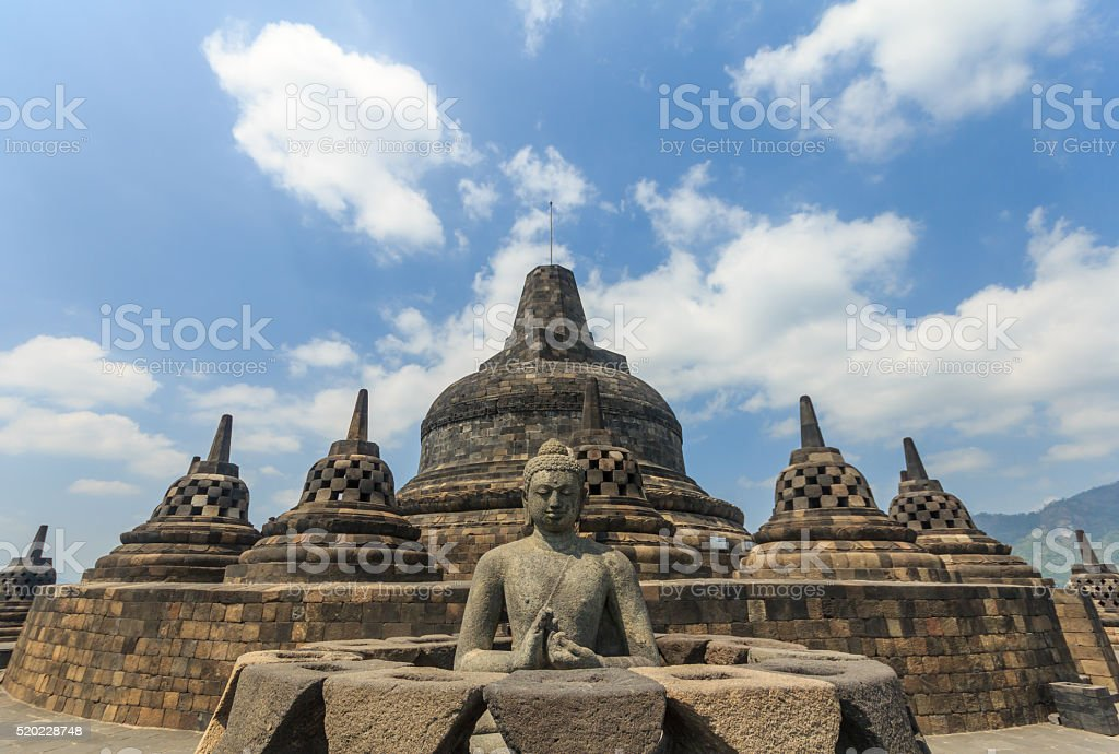 Borobudur temple,Indonesia stock photo