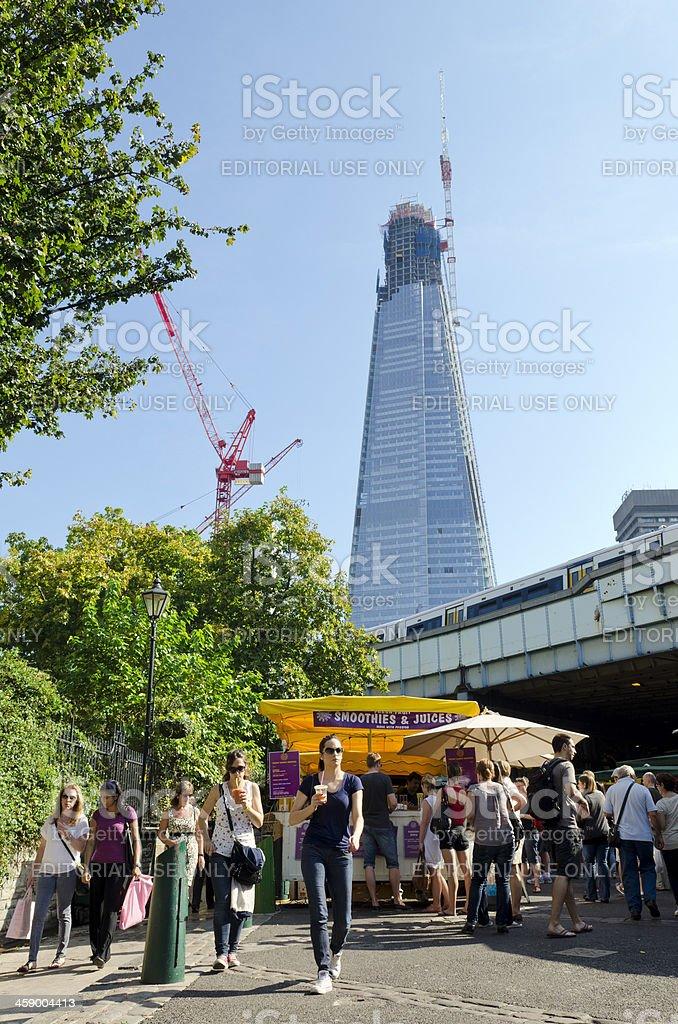Borough Market, London stock photo