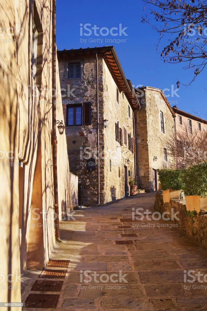 Borro village, Tuscany royalty-free stock photo