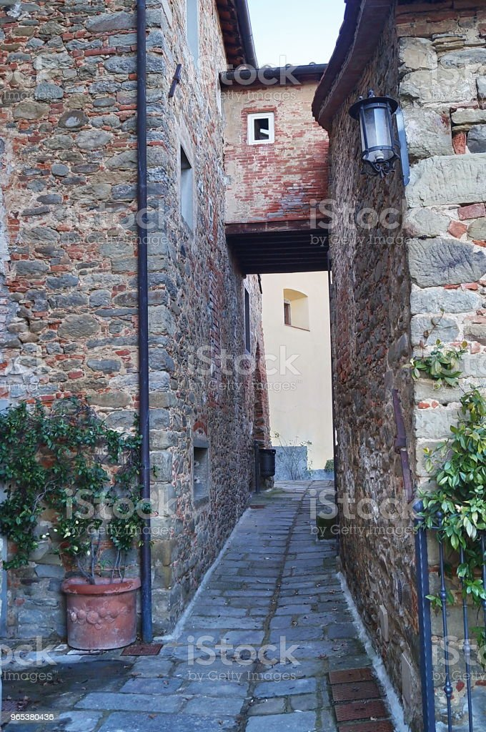 Borro village, Tuscany royalty-free stock photo