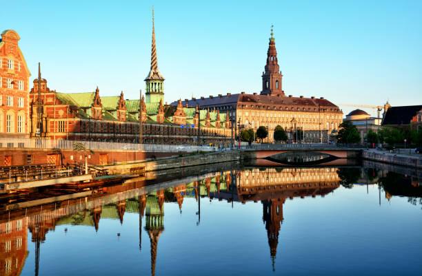 börsen byggnad, copenhagen - öresundsregionen bildbanksfoton och bilder