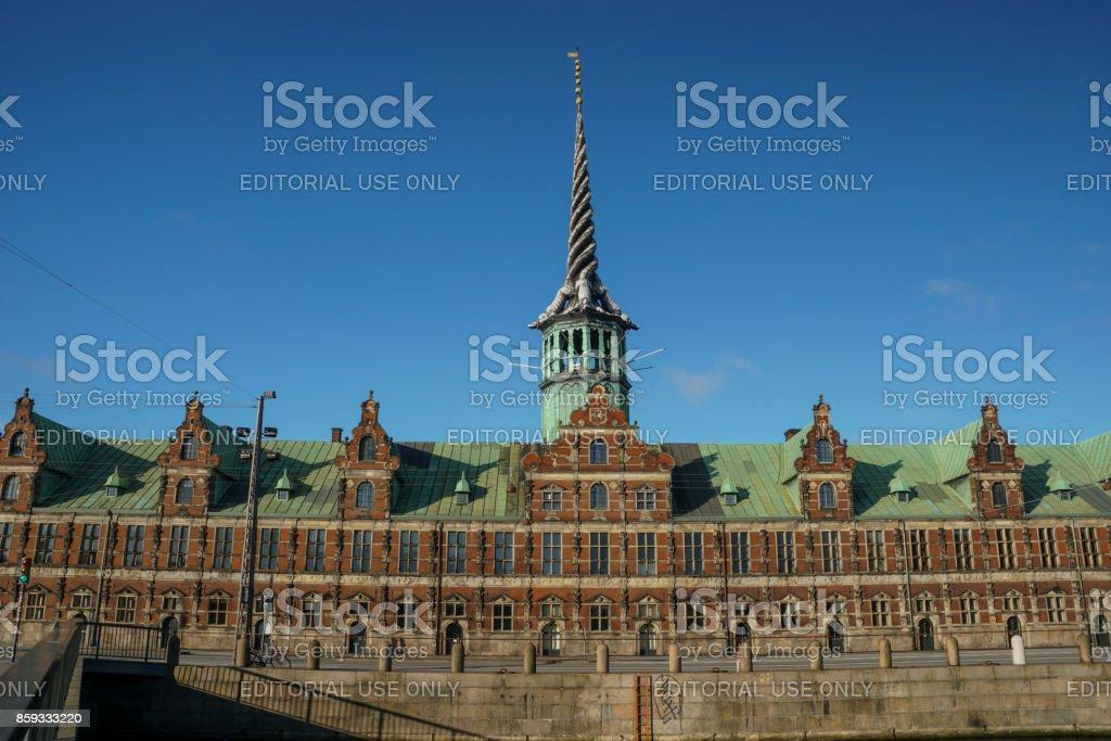 Borsen in Copenhagen, Denmark stock photo
