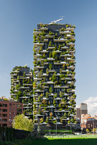 Bosco Verticale A Pair Of Two Residential Towers In Milan