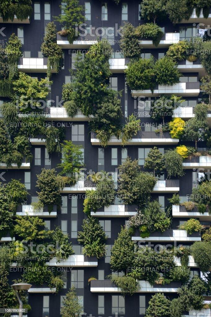 Bosco Verticale apartments, Milano - foto stock