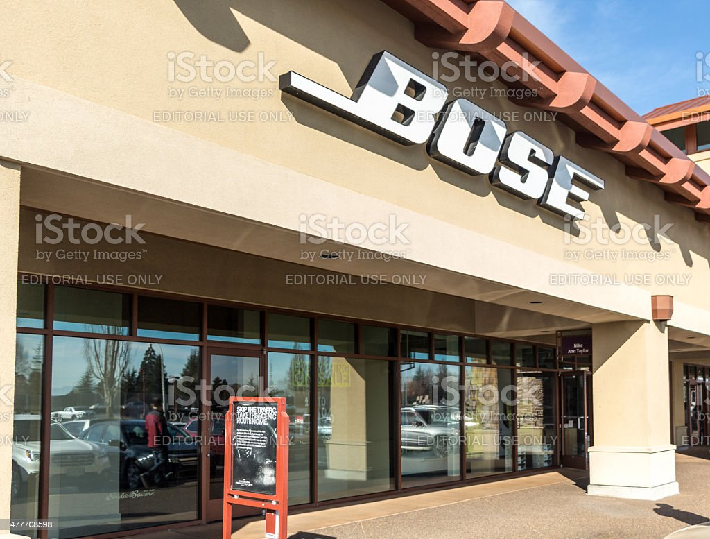 Bose Outlet Store stock photo