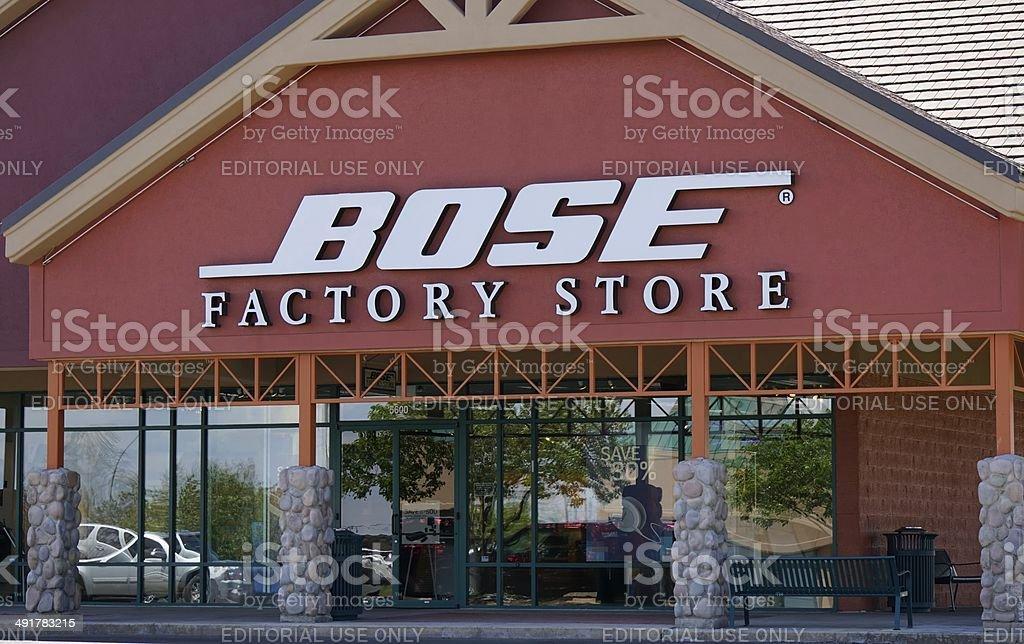 Bose stock photo